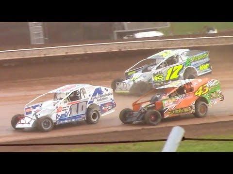 RUSH Sportsman Modified Heat Three | Sharon Speedway | 7-2-18