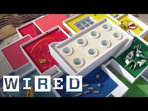 The new LEGO House is the ultimate homage to the brick