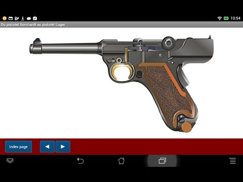 Pistolets Luger de la firme DWM - Application Android - HLebooks.com