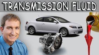 Transmission Fluid Change Toyota Scion