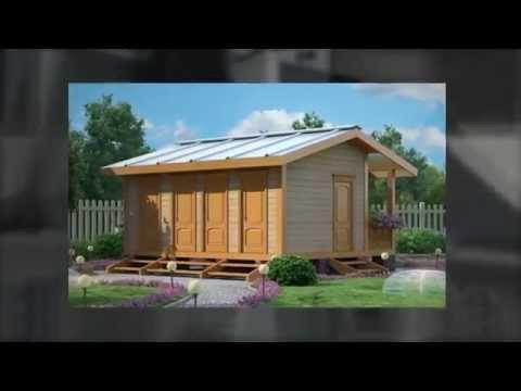 Дешевые дачные домики! Быстрый домик.