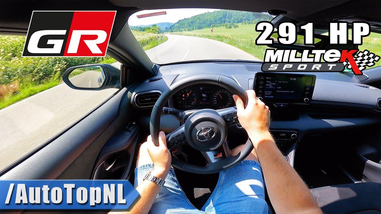 291HP Toyota GR Yaris @RaceChip | MILLTEK Exhaust POV by AutoTopNL