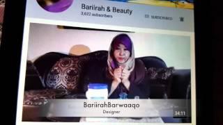 Baro Sida Loo Isticmaalo Youtube Ka With Abaayo BariirahBarwaaqo