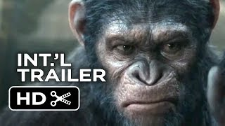 Dawn Of The Planet Of The Apes Official International Trailer (2014) - Andy Serkis Movie HD