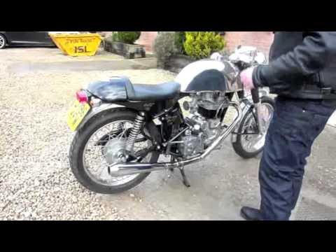 Royal Enfield 612 Bullet Cafe Racer