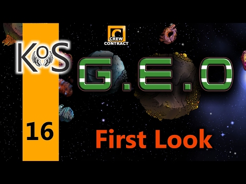 Geo Ep 16: Cat Stories & More Drilling - First Look - Let's Play, Gameplay