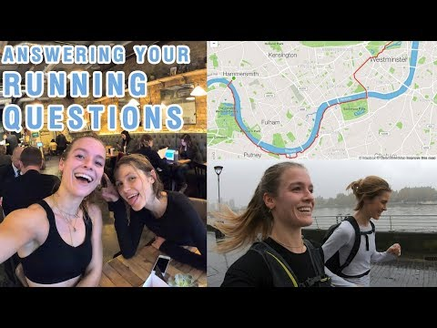 LONG RUN DAY | ANOTHER MARATHON?! | What I eat, training, gear etc.