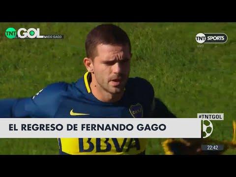 La lupa en el partido de Fernando Gago