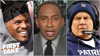 Stephen A. weighs in on Bill Belichick and Cam Newton | First Take