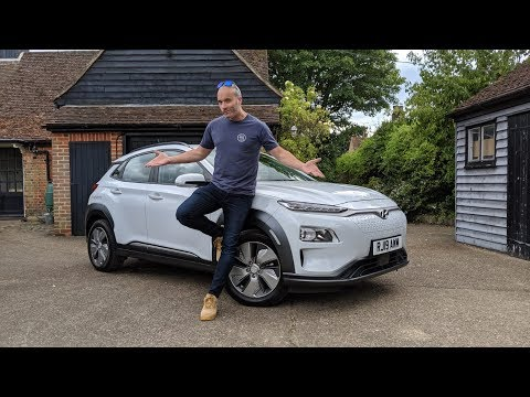 Hyundai Kona Electric SUV Review (2019) | Best value EV car on sale? AD