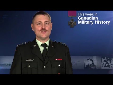 This Week in Canadian Military History: Apr 17-23 2016