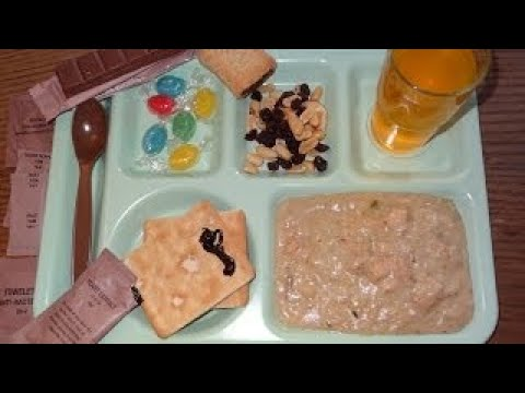 New Zealand Operational Ration Pack (ORP) Menu D - Part 3: Lunch