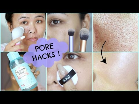 How To Get Rid of PORES | Make them disappear!