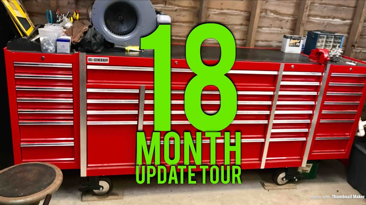harbor freight 72 tool box tour youtube. Black Bedroom Furniture Sets. Home Design Ideas