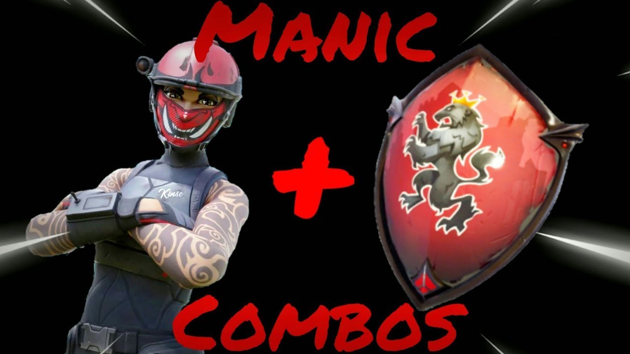 MANIC SKIN BEST COMBOS! - Fortnite Battle Royale - YouTube