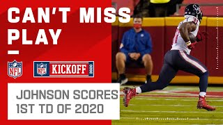 First TD of 2020! David Johnson Takes It to the House