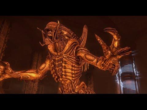 Aliens V S  Predator Walkthrough Finale: Pyramid (PredAlien Boss