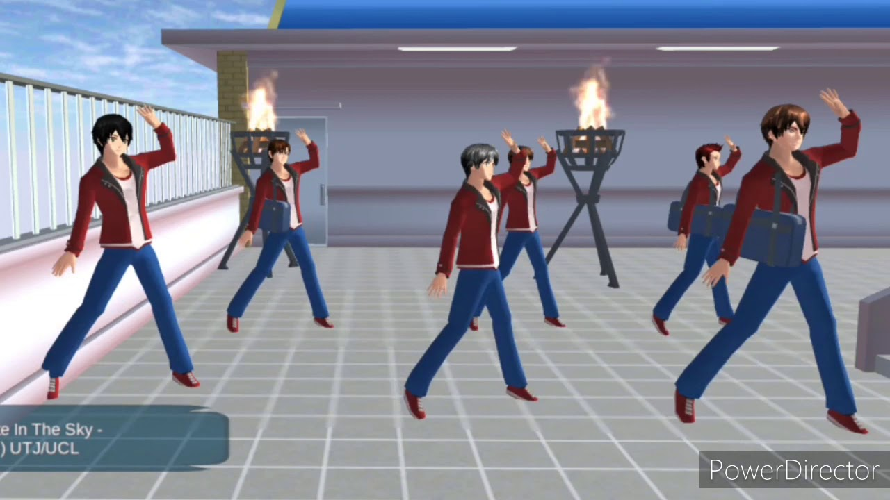 Sakura School Simulator Bts Fire Youtube