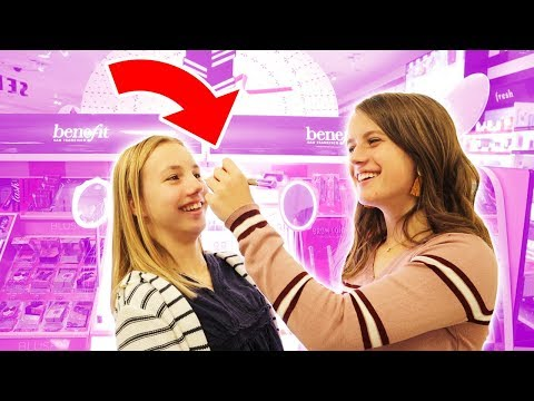 SHOPPING FOR MAKEUP WITH MY SISTER