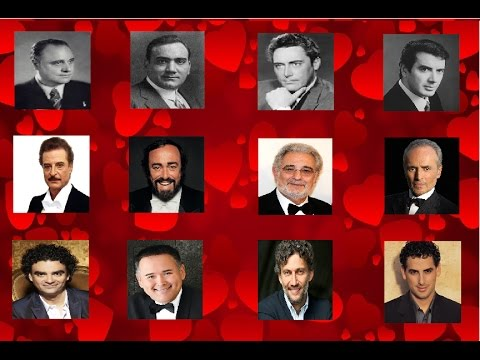 Grandes Tenores del Siglo XX - Great Tenors of 20 Century