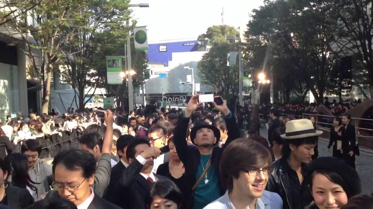 JAPAN IN A DAY 第25回東京国際映画祭のグリーンカーペットを歩いてみた2 #1