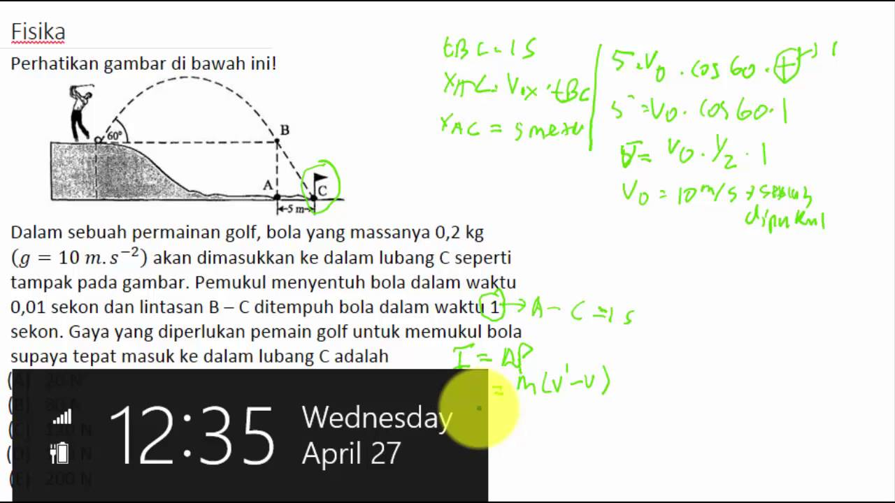Soal HOTS UN SMA : Fisika  YouTube
