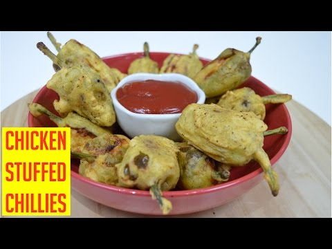 Chicken Stuffed Chillies | Indian Cooking Recipes | Cook with Anisa | Ramadan Recipe