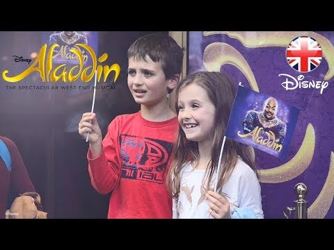 ALADDIN THE MUSICAL | Autism-Friendly Performance - London | Official Disney UK