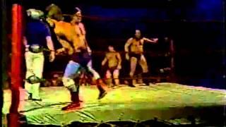 1980 Cassidy/Kent vs Chief Eagle/Thundercloud MIXED MIDGETS MEMPHIS WRESTLING