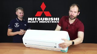 видео Сплит система Mitsubishi Heavy SRK35ZSPR-S/SRC35ZSPR-S