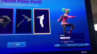 Amazon Prime free Fortnite Skins (Twitch)