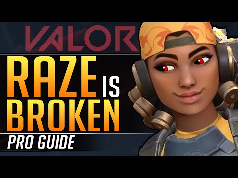 How To Make RAZE BROKEN: Abilities, Combos And Mechanics You MUST EXPLOIT - Valorant Pro Guide
