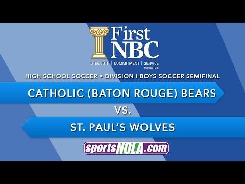 First NBC Bank Presents: Catholic vs. St. Paul's Soccer Semifinal