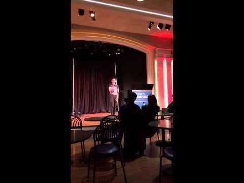 Gregory Sim singing @ UIUC Illini Union
