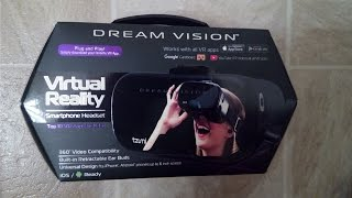 Dream Vision: VR Smartphone Headset (unboxing & review)