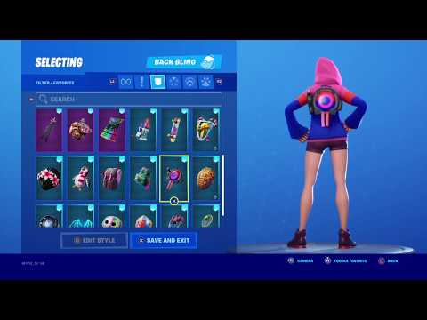 30 COMBOS WITH IRIS SKIN IN FORTNITE!