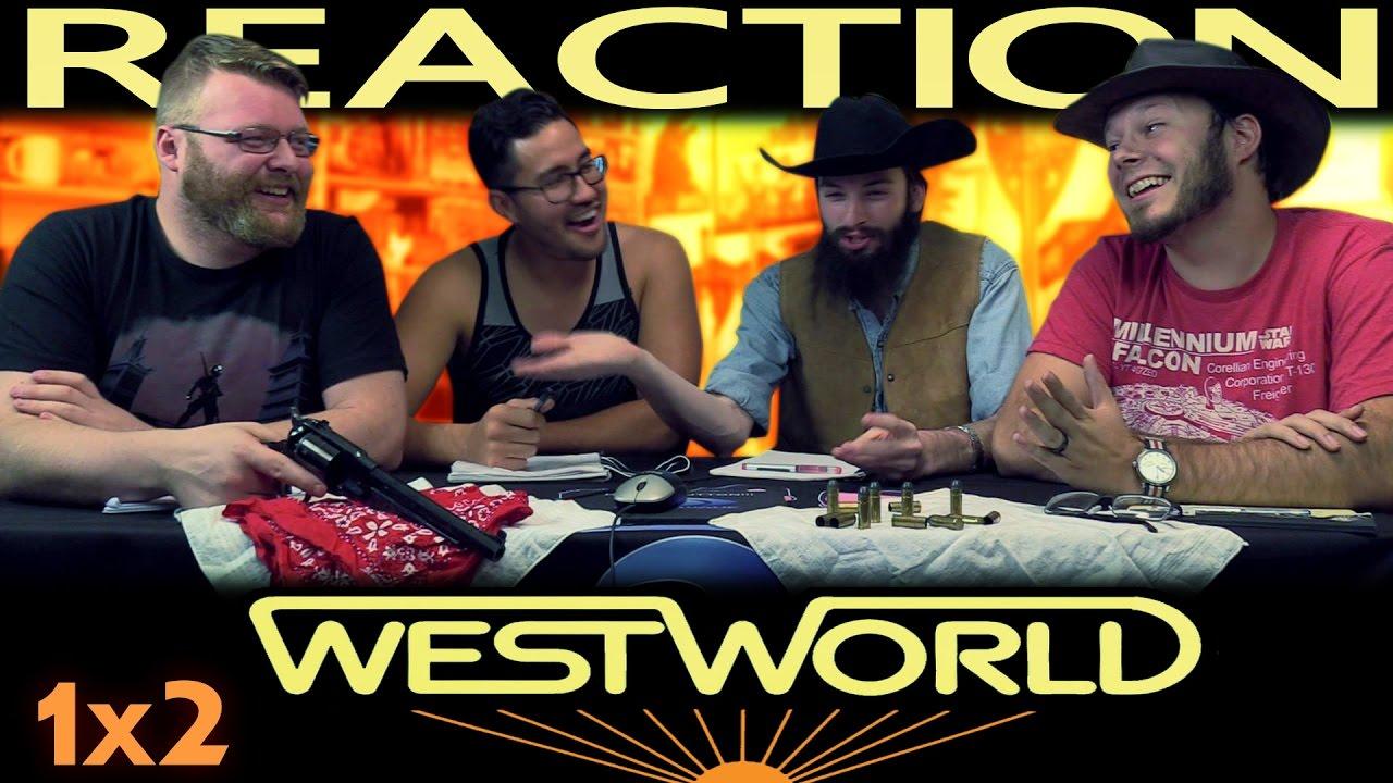 """Download Westworld 1x2 REACTION!! """"Chestnut"""""""