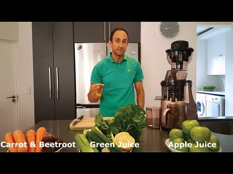 DNA Whole Juicer - 3 Recipes in 3 Minutes