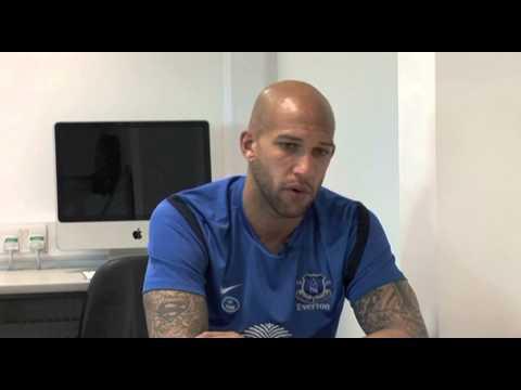 "Everton FC Goalie Tim Howard (formerly Manchester United) in ""Letting My Light Shine"""