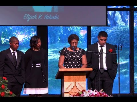 Elijah Yabaki Funeral Service part one HD