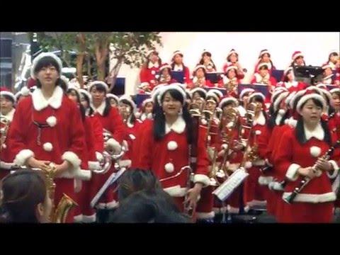 大阪桐蔭高校吹奏楽部180人のサンタコンサート 3rdStage