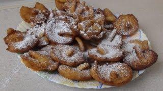 Печенье Опята из жидкого теста