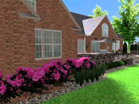 Elegant Landscape Design Cary NC