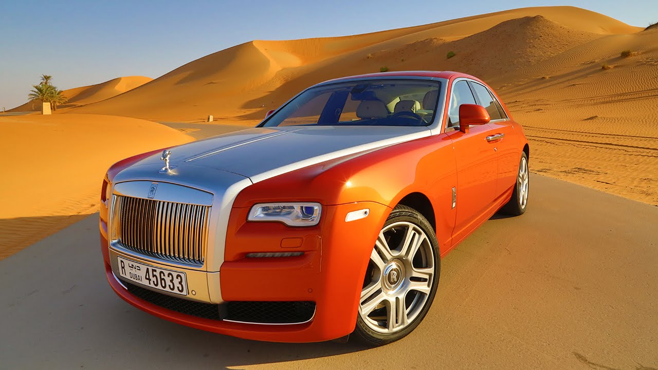 Rolls-Royce Ghost Test Drive At The Empty Quarter
