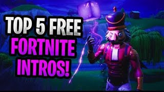 Top Five Fortnite Outros (Free To Use)