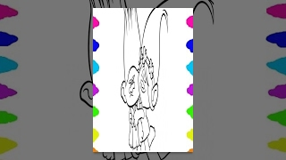 How to Draw DREAMWORKS TROLLS Coloring Pages Best Learning Videos For Children