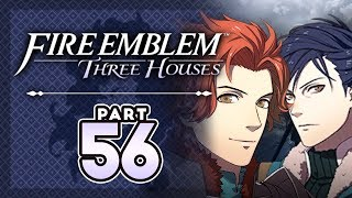 """Part 56: Let's Play Fire Emblem, Three Houses, Blue Lions, New Game+ - """"Bromance"""""""