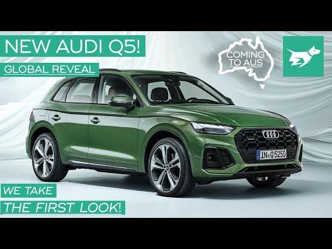 Audi Q5 2021 Review Walkaround – Updated Luxury Crossover