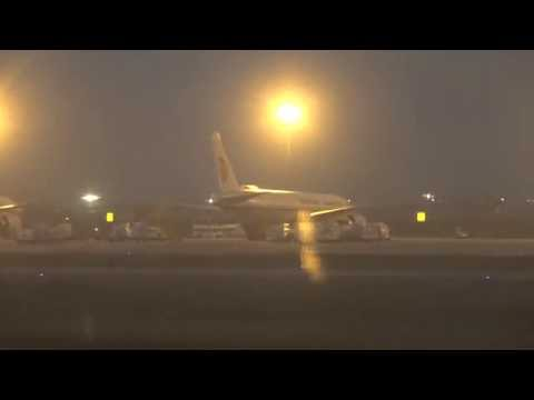 China Eastern Airlines Airbus A330 Landing Shanghai Pu Dong Airport, China