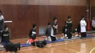 膝前十字靭帯損傷予防プログラム② acl injury prevention program b
